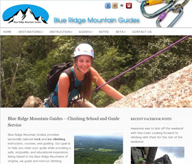 Blue Ridge Mountain Guides – Climbing School and Guide Service